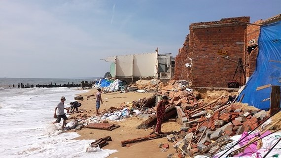The coastal erosion has increasingly threatened to coastal localities in recent years.