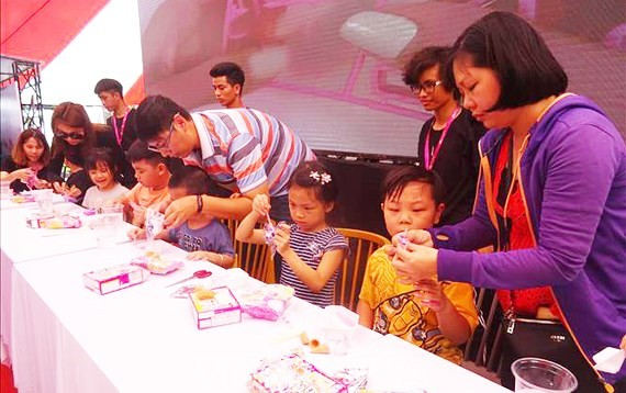 """The sixth Japan – Vietnam Festival with the  theme """"Holding Hands Tightly"""" takes place in Ho Chi Minh City (Photo:VNA)"""