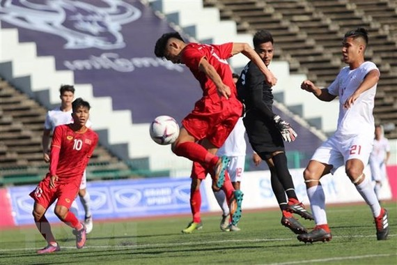 Vietnam wins 3 points in the match against the Philippines. (Source: VNA)