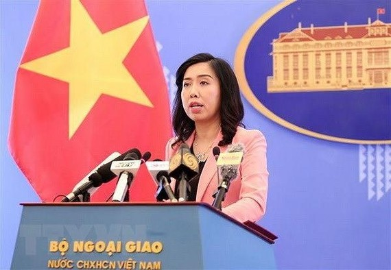 Spokeswoman for the Ministry of Foreign Affairs of Vietnam Le Thi Thu Hang