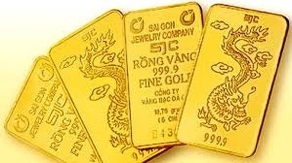 Domestic gold prices dancing