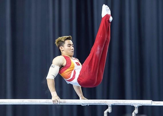 Gymnast Le Thanh Tung (Photo:SGGP)