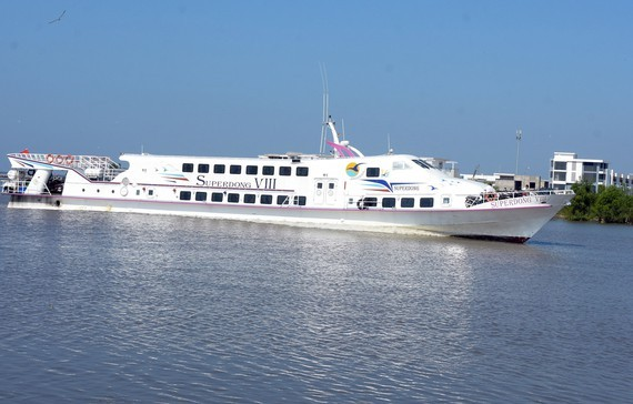 Phu Quoc – Nam Du high-speed boat officially operates.(Photo:VINH THUAN)