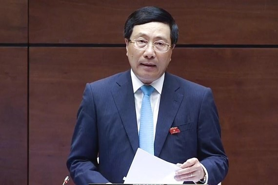 Minister of Foreign Affairs Pham Binh Minh