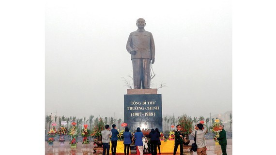 Statue of late Party General Secretary Truong Chinh