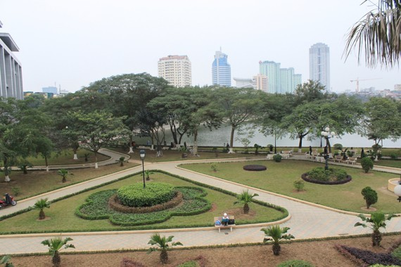 Air quality in Hanoi improves