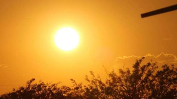 Current weather condition unfavorable for human health