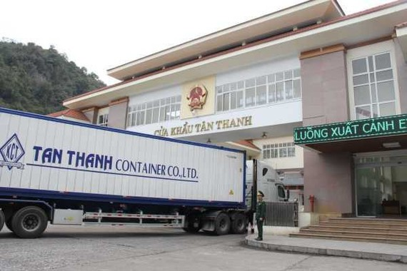 Tan Thanh border gate resumes operation on February 20