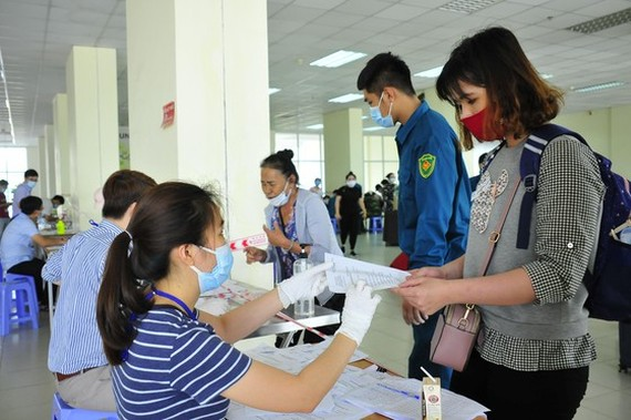 Over 2,600 people complete centralized isolation in HCMC