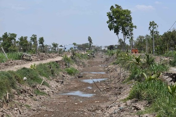 Drought, lack of water and saline intrusion are getting more and more serious in nationwide provinces (Photo: The General Department of Disaster Prevention and Control)