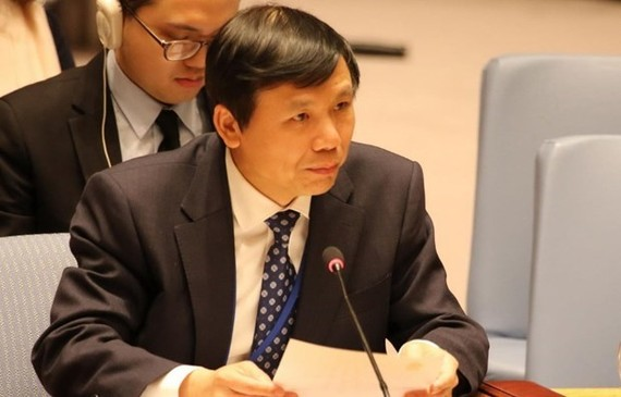Ambassador Dang Dinh Quy, head of the Vietnamese Permanent Mission to the United Nations (Source: VNA)