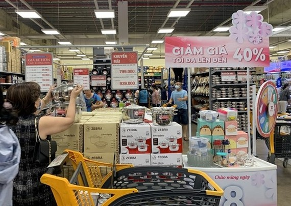 The HCM City Department of Industry and Trade will organise the Consumption Stimulus Fair from July 2 to 5 this year to revive demand that has slumped due to the COVID-19 pandemic. (Source: VNA)