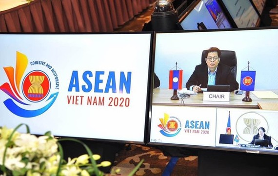The 19th Cambodia- Laos -Myanmar- Vietnam senior economic officials' meeting takes place in Hanoi capital under the online form