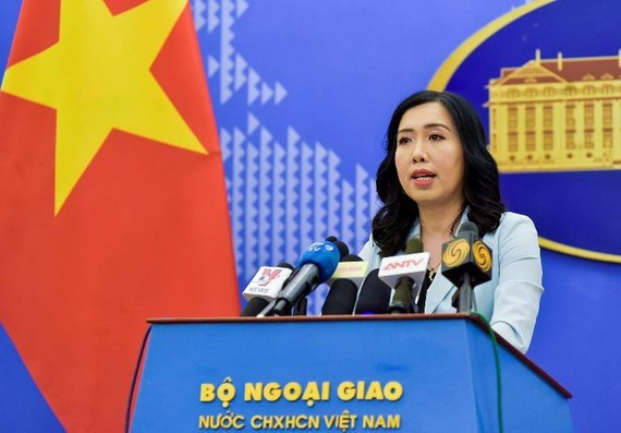 Spokesperson of the Foreign Ministry Le Thi Thu Hang (Photo: VNA)