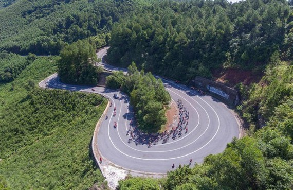 6th, 7th stage finish of VTV Cycling Tournament - Hoa Sen Cup changed