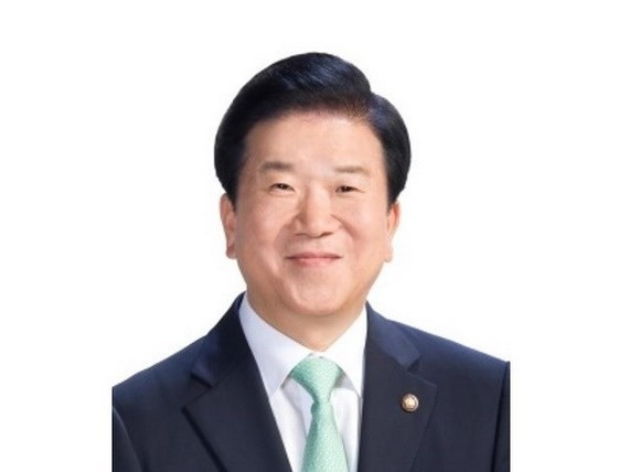 Speaker of the National Assembly of the Republic of Korea Park Byeong-seug (Photo: VNA)