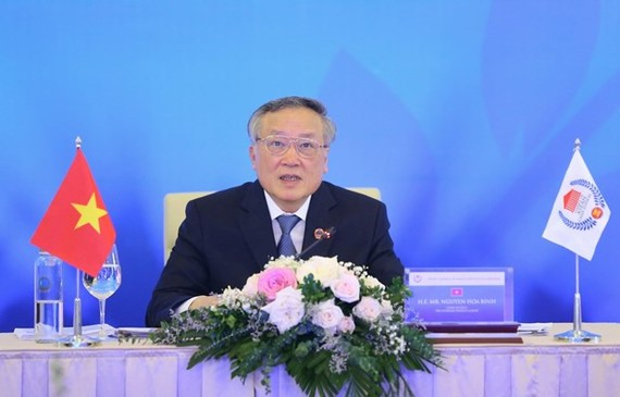 Chief Justice of the Supreme People's Court of Vietnam Nguyen Hoa Binh (Photo: VNA)