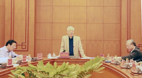 Party General Secretary and State President Nguyen Phu Trong (Source: BNC)
