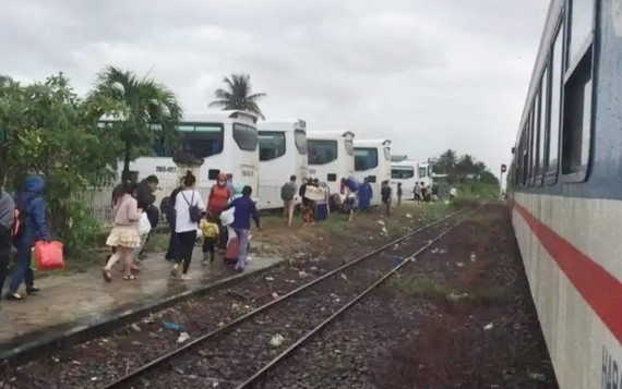 North-South railway route resumed after several hours of operation suspension