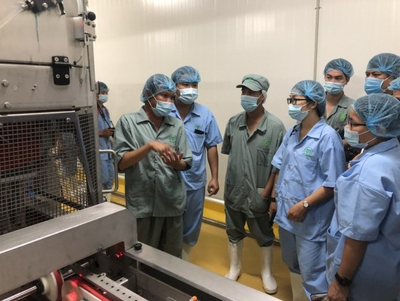 Southeast Asia's largest chicken processing factory has been now put into operation