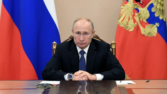 Russian President extends New Year greetings to Vietnam | National | SGGP  English Edition