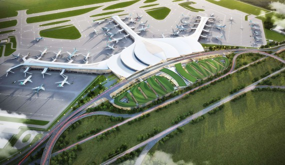 Image of Long Thanh International Airport  in the future (Photo: ACV)