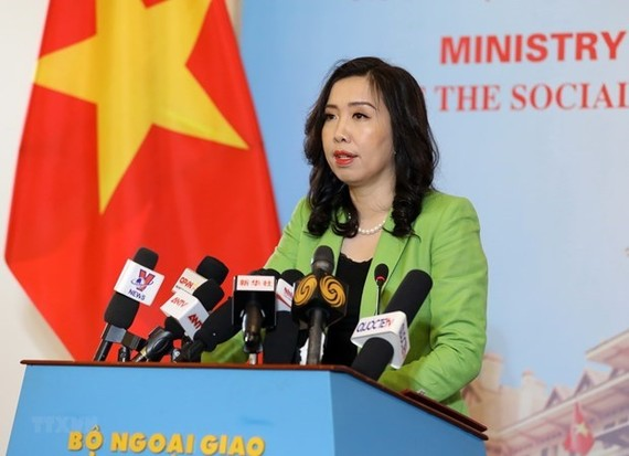 Foreign Ministry spokesperson Le Thi Thu Hang (Photo: VNA)