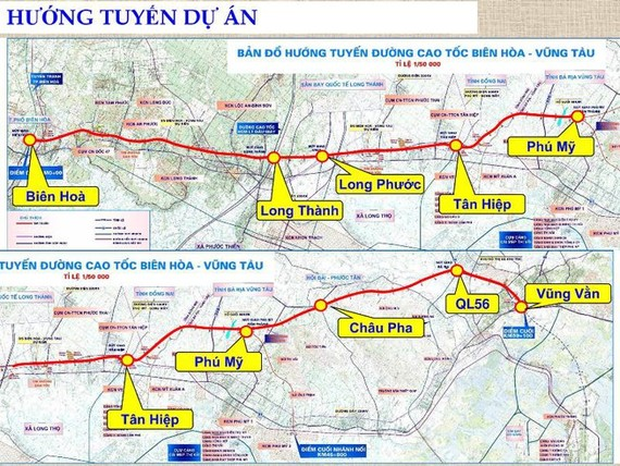 Bien Hoa -Vung Tau expressway to receive US$293 million from State budget