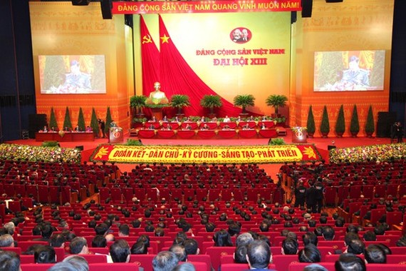The 13th National Congress of the Communist Party of Vietnam is being held in Hanoi from January 25 to February 2(Photo: SGGP/ Viet Chung)