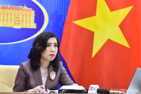 Spokesperson for the Ministry of Foreign Affairs Le Thi Thu Hang. — Photo from the Ministry of Foreign Affairs