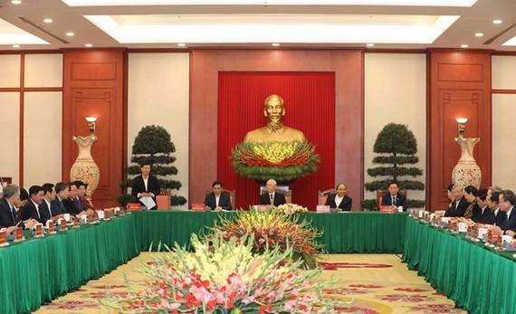 At the meeting (Photo: VNA)