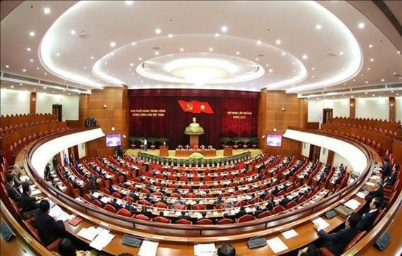 The 13th Party Central Committee's second plenum will last until March 9. (Photo: VNA)