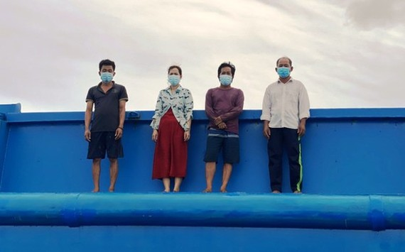 Kien Giang Province detects four illegal immigrants from Cambodia by seaway
