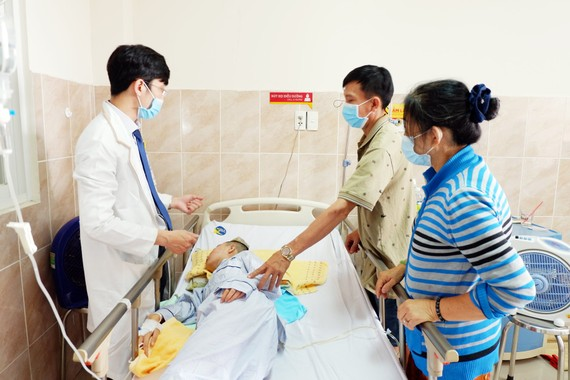 Hiện bệnh nhân đã qua cơn nguy kịch, hồi phục tốt