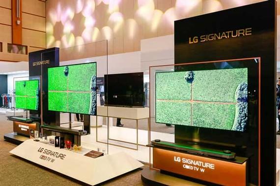 LG Electronics đạt 12,7 tỷ USD tổng doanh thu trong quý I