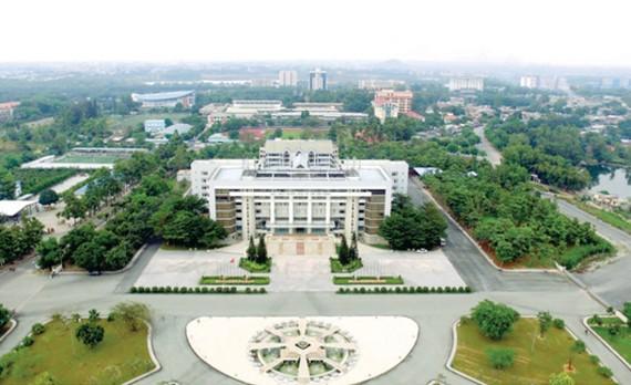 Làng Đại học Quốc gia TPHCM. Ảnh: THÁI BẰNG