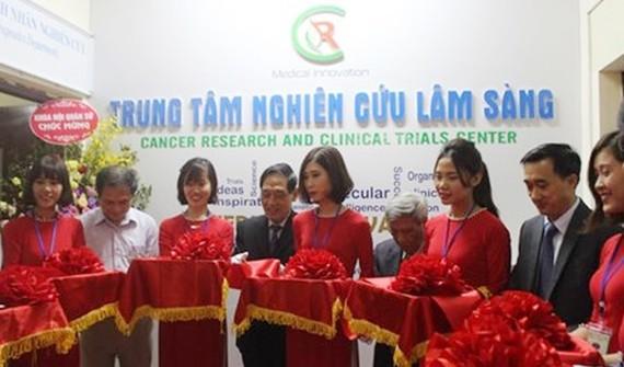Việt Nam có Trung tâm Nghiên cứu lâm sàng về ung thư