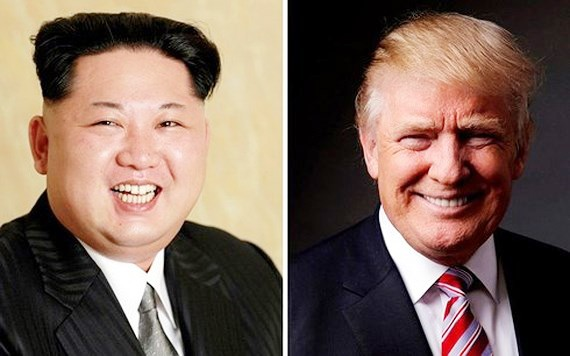 Nhà lãnh đạo Triều Tiên Kim Jong-un và Tổng thống Mỹ Donald Trump. Ảnh: REUTERS