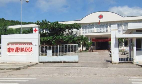 Bệnh viện Đa khoa Phú Quốc. Ảnh: BVĐKPQ