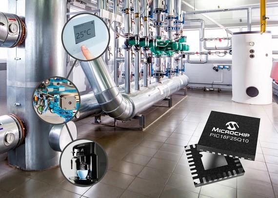 Tăng hiệu năng ứng dụng điều khiển PIC® và AVR® mới của Microchip
