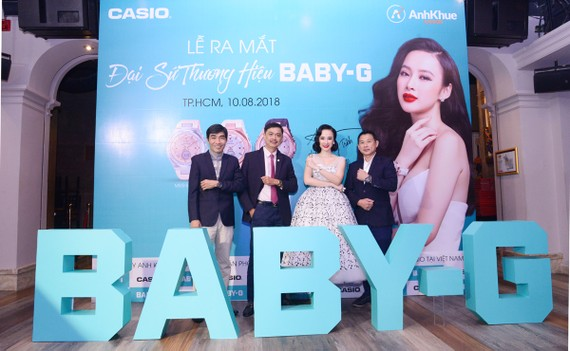 Ra mắt Đại sứ nhãn hàng Baby-G tại Việt Nam
