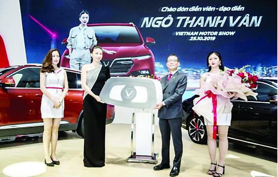 Ngô Thanh Vân là đại sứ thương hiệu VinFast