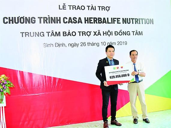 Quỹ HNF công bố hỗ trợ dinh dưỡng năm thứ 7 cho Trung tâm Bảo trợ xã hội Đồng Tâm