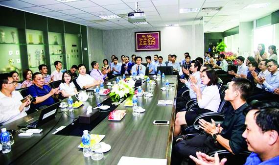 Tập đoàn Xây dựng Hòa Bình tổ chức gặp mặt đào tạo viên nội bộ