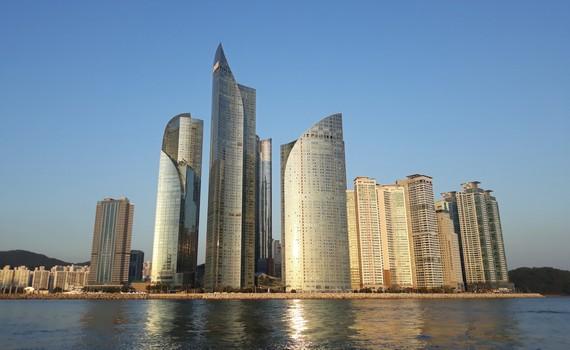 Busan là thành phố lớn thứ nhì tại Hàn Quốc, sau thủ đô Seoul. Ảnh: M.H