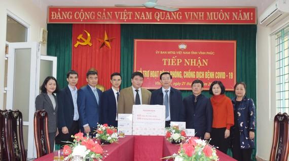 Honda Việt Nam cùng chung tay hỗ trợ đẩy lùi dịch bệnh Covid-19 tại Vĩnh Phúc