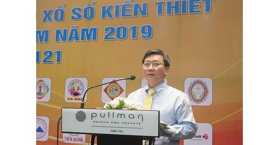 Ông Đỗ Quang Vinh, Chủ tịch Hội đồng Xổ số Kiến thiết Khu vực miền Nam, Tổng Giám đốc Công ty MTV Xổ sô Kiến thiết TPHCM