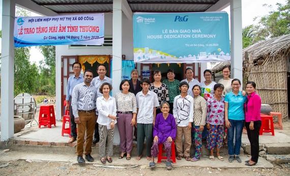 Công ty P&G xây nhà cho người nghèo