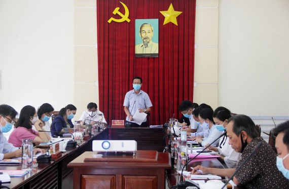 Đồng chí Phạm Đức Hải, Phó Chủ tịch Thường trực HĐND TPHCM phát biểu tại buổi giám sát. Ảnh: VÕ THẮM