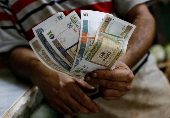 Đồng peso của Cuba. Ảnh: REUTERS